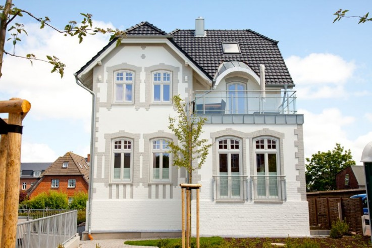 Traumhafte modernisierte Villa Meergl�ck in 1-A Wohnlage in Westerland
